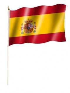 Stockfahne Spanien Wappen