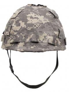 US Helm mit Stoffbezug AT digital