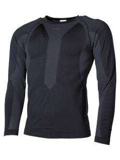 Thermo Funktions Unterhemd langarm schwarz