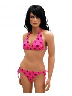Bikini skull pink