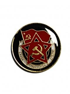 Anstecker Pin CCCP Rot Schwarz