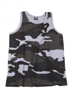 US Tank Top Muskelshirt Skyblue