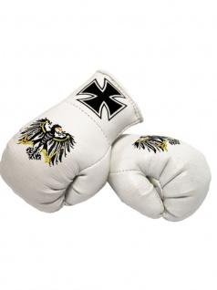 Kleine Boxhandschuhe Eisernes Kreuz