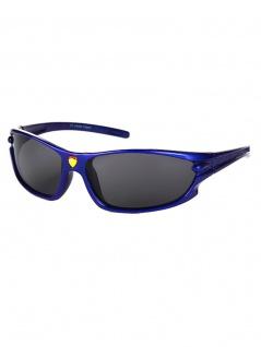 Kinder Sonnenbrille Sport blau oval