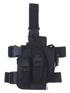Security Pistolenbeinholster schwarz