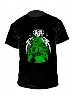 Nunslaughter T-Shirt Green Witch