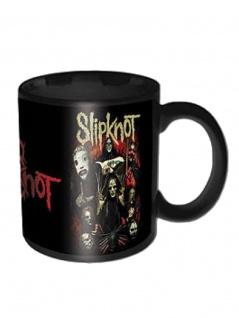 Slipknot Kaffeetasse Come Play Dying Black