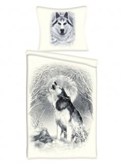 Spiral Bettwäsche White Wolf
