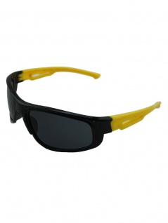 Kinder Sonnenbrille schwarz gelb