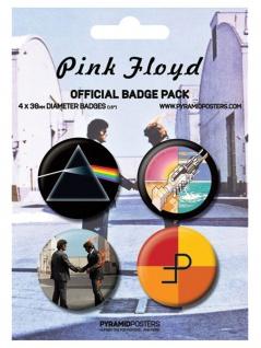 Button Set Pink Floyd
