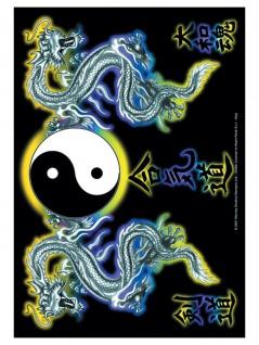 Sunrise Dragon Tao Posterfahne