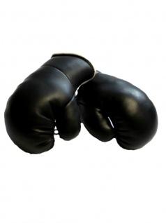 Kleine Boxhandschuhe schwarz