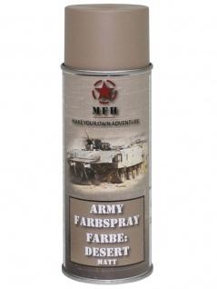 Militär Lack Spraydose desert matt