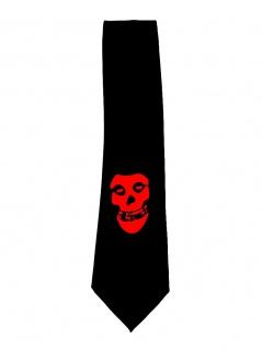 Krawatte rote Maske