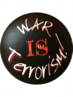 2 Button Krieg schwarz