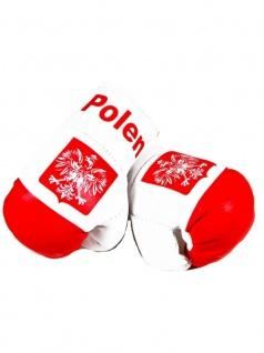 Kleine Boxhandschuhe Polen
