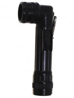 US Army Taschenlampe mittel schwarz