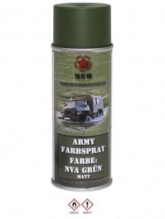 Militär Lack Spraydose NVA grün matt
