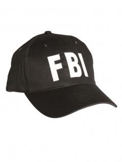 Baseball Cap FBI schwarz