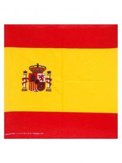 Bandana Spanien mit Wappen