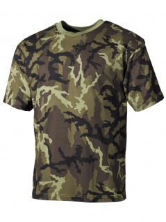 US Militär T-Shirt CZ tarn