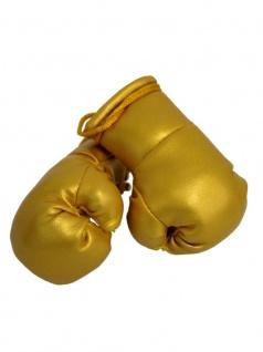 Kleine Boxhandschuhe gold