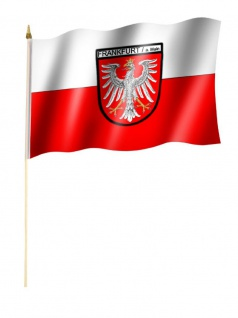 Stockfahne Frankfurt Main