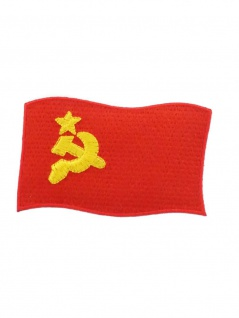 Aufbügler Fahne CCCP