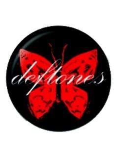 2 Button Deftones Butterfly