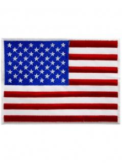 Aufnäher USA Fahne groß