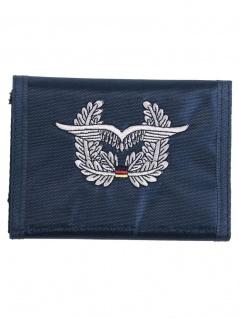 Geldbeutel Luftwaffe blau