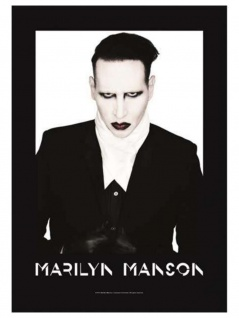 Marilyn Manson Poster Fahne Poster
