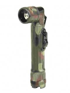 US Army Taschenlampe groß flecktarn