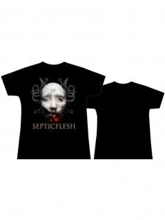 Septicflesh Girl T-Shirt Face