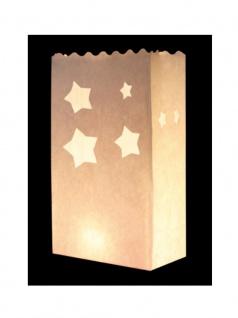 Kerzen Lichttüte Sterne