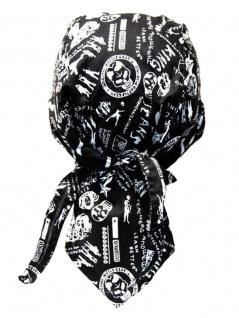 Bandana Cap King skull