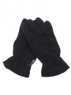 Fleece Handschuhe schwarz