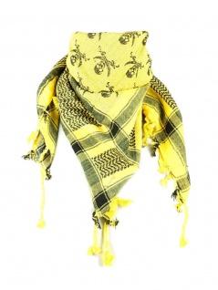 PLO Tuch Pirat gelb