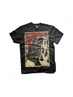 Star Wars T-Shirt Vader in Flames