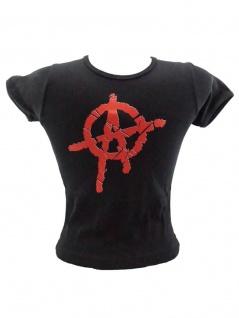 Kinder T-Shirt Anarchy schwarz