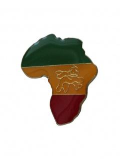 Anstecker Pin Kontinent Afrika