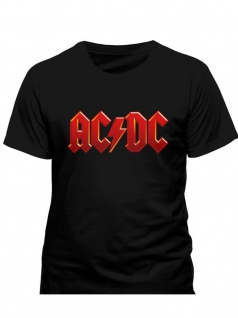 ACDC T-Shirt Red Logo