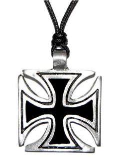 Gothic Halskette Iron Cross black