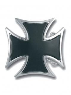 Gürtelschnalle Eisernes Kreuz schwarz