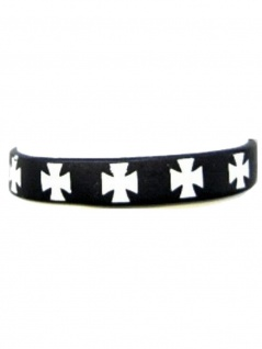 Silikon Armband Kreuz