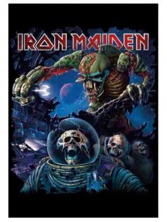 Iron Maiden Poster Fahne Frontiers Album Cover