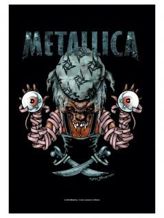 Metallica Poster Fahne Pirate