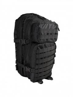 US Molle Rucksack schwarz mit Beckengurt - Vorschau 1