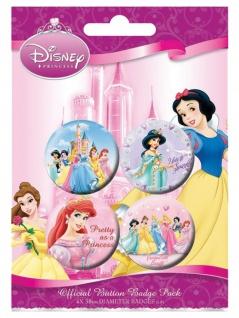 Button Set Disney Princess
