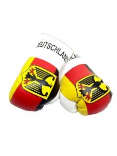 Kleine Boxhandschuhe Deutschland mit Adler